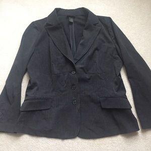 Lane Bryant classic black blazer